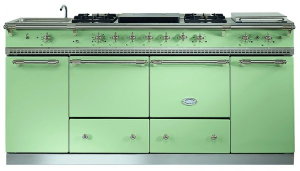 Flavigny in Lime Green with Nickel Trim