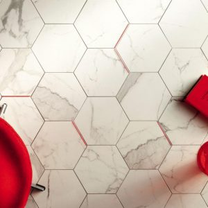 Epona Hexagon Matt Tile