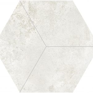 Totoro Hexagonal White Matt