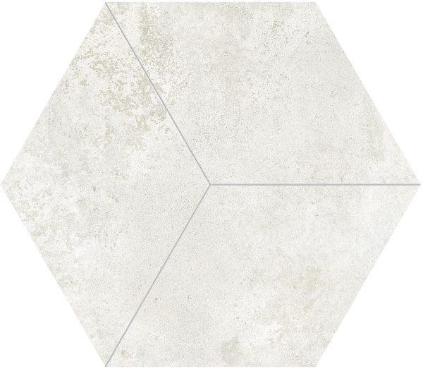 Totoro Hexagonal White Matt